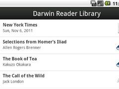 Darwin Reader Trial  Screenshot