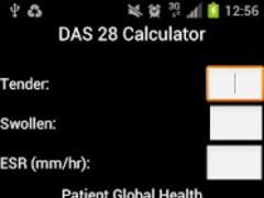 DAS28 Calculator 2.1 Screenshot