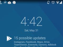 Dashclock Network Extension 0.4 Screenshot