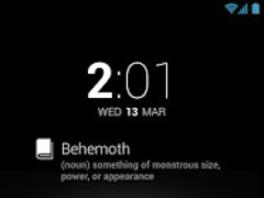 DashClock Word of the Day 1.5 Screenshot