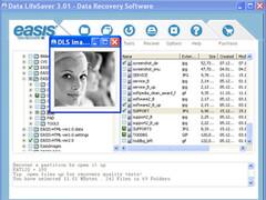 EASIS Data Recovery 4.4.1 Screenshot