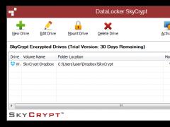 DataLocker SafeCrypt for Windows 1.0.0.103 Screenshot