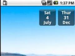 Date & Day Widget 1.0 Screenshot