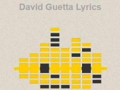 David Guetta Lyrics 1.0 Screenshot