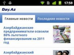 DAY.AZ - Azerbaijan Portal 1.7.4 Screenshot