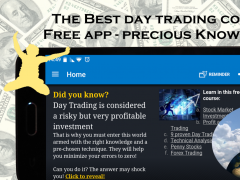 Day Trading (intraday) Course: Stock trading guide 11.0 Screenshot