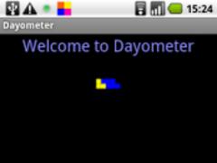 Dayometer 1.2 Screenshot