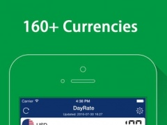 DayRate - Currency Convert, Calculator, Currency Exchange Rates Converter 1.3 Screenshot