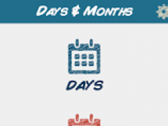 Days & Months Flashcards 2.0 Screenshot