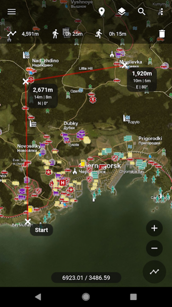 Central for DayZ - Map & Guide 1.53 Free Download on