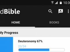 dBible - Bible With Progress 2.1 Screenshot