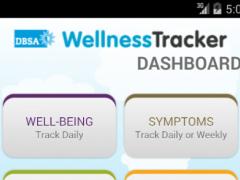 DBSA Wellness Tracker 4.3 Screenshot