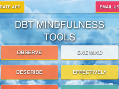 DBT Mindfulness Tools 1.1 Screenshot