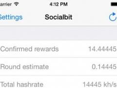 de.socialbit.minerwatcher.wemineall 1.0 Screenshot