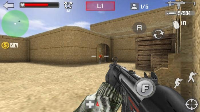 Shoot Strike War Fire