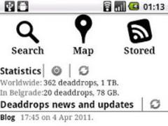 DeaddropDroid 1.0 Screenshot