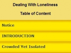 Dealing With Loneliness 1.0 Screenshot