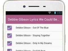 Debbie Gibson Song 1.0 Screenshot