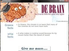 Debrain facts generator 1.0 Screenshot