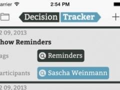 Decision Tracker Free 1.0.0 Screenshot