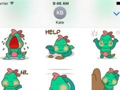 DeeDee, the cute green dragon 1.0 Screenshot