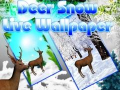 Deer Snow Live Wallpaper 1.0 Screenshot