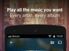 Deezer: download music. Play radio & any song, MP3  Screenshot