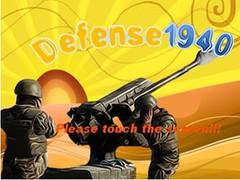Defense 1940 2.0 Screenshot