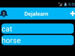 DejaLearn 1.9 Screenshot