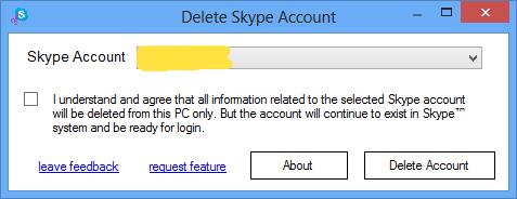 как в скайпе удалить фото