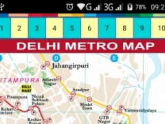 Review Screenshot - The Easiest Way to Gain Info about the Delhi Metro Service