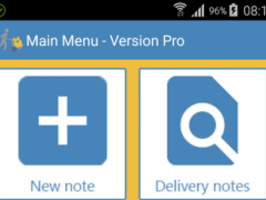 Delivery notes - Lite 1.0.5.3 Screenshot
