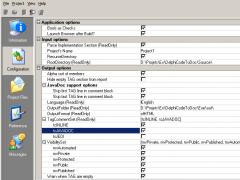 DelphiCodeToDoc 0.23b Screenshot