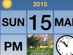 Dementia Calendar Clock 1.0 Screenshot