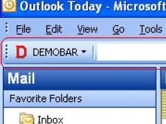 Demo toolbar for Microsoft Outlook (MSODemoToolbar). 1.1 Screenshot
