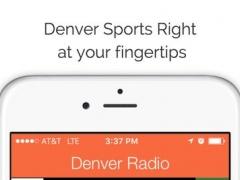 Denver GameDay Radio for Live Colorado Sports, News, and Music – Broncos and Nuggets Edition 1.0 Screenshot