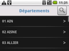 Departement 1.2.0 Screenshot