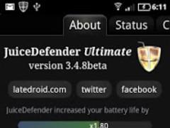 [DEPR.] JuiceDefender Ultimate 3.8.0 Screenshot