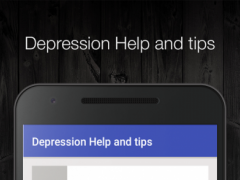 Depression Help and tips 1.0 Screenshot
