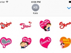 Desi Love Stickers Pack For iMessage 1.0 Screenshot