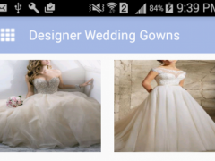 Designer Wedding Gowns design 1.0 Screenshot