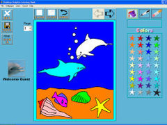 Desktop Dolphin Coloring Book 1.0 Screenshot