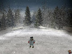 Desktop Snowman Screensaver 1.0 Screenshot