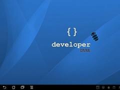 Developer Central for tablets 1.1.0 Screenshot