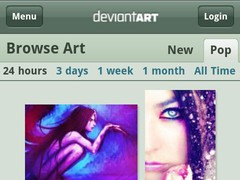 deviantART Mobile Webview 2.1.1 Screenshot