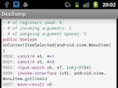 Dex Dump 1.1.0 Screenshot