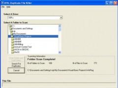 DFK: Duplicate File Killer 0.9.5B Screenshot