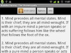 Dhammapada 1.1 Screenshot