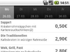 DHBW Mensa App 1.2.2 Screenshot