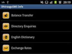 DhiraaguSMS Info 1.7 Screenshot